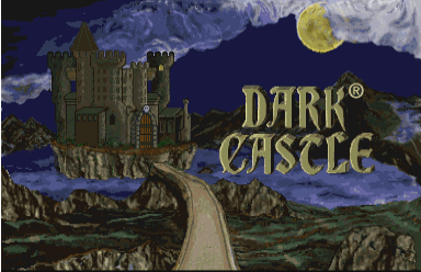 Dark Castle CD-i title screen