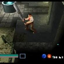 Ehrgeiz PS1 Buster Sword screenshot
