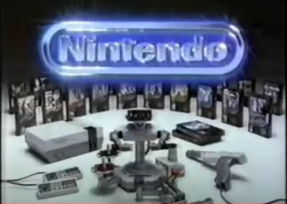 Classic NES game commercials