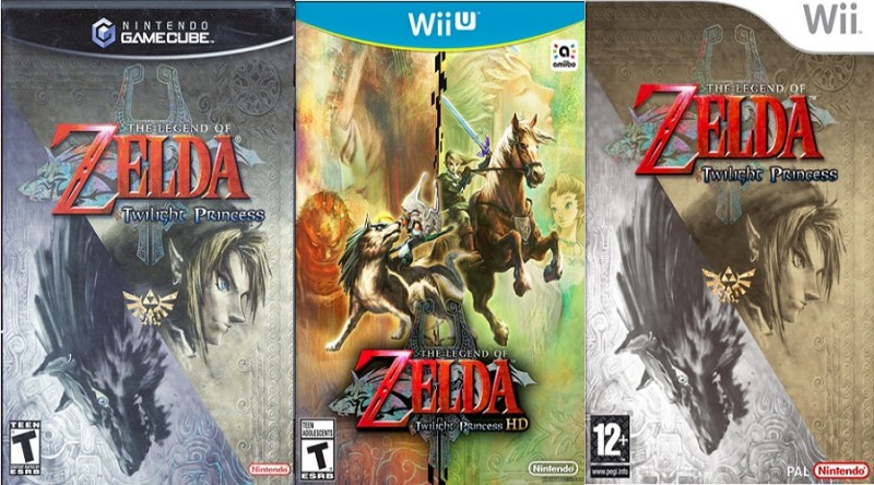 Legend of Zelda Twilight Princess cover compilation