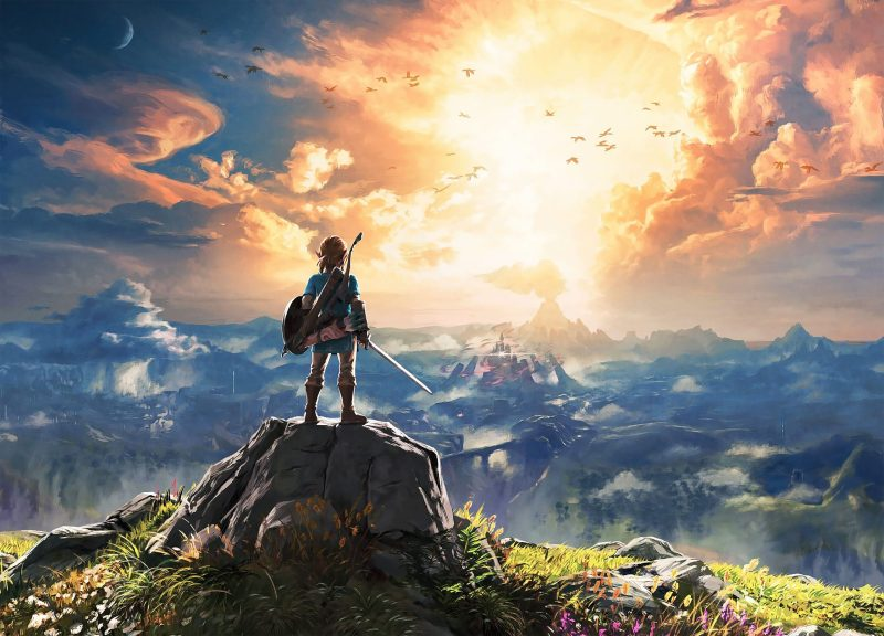 Breath of the Wild compressed cover art