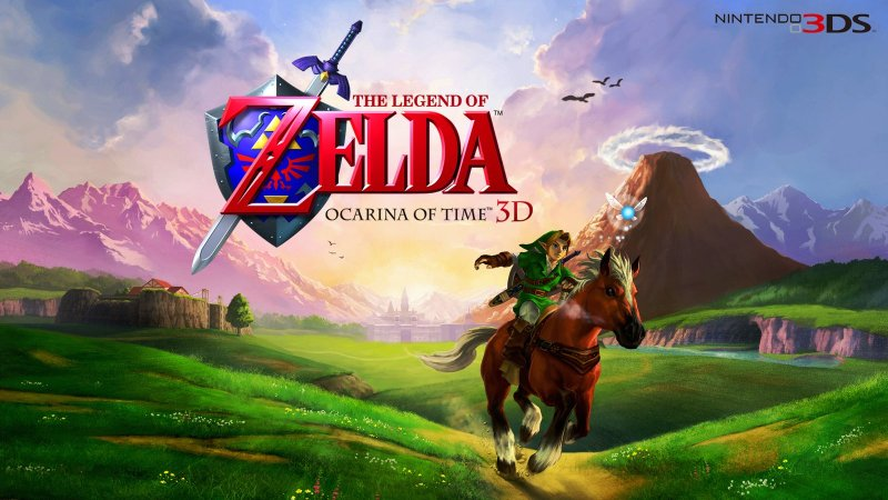 Legend of Zelda Ocarina of Time cover art