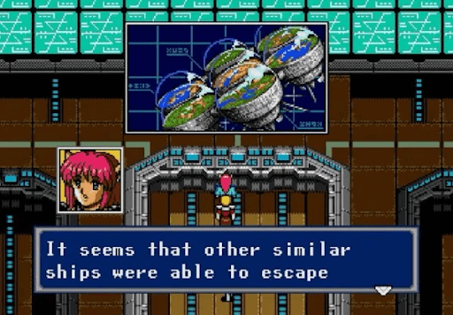 Phantasy Star IV escaped ships