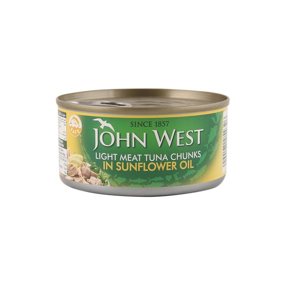 John West tuna chunks in sunflower oil 200g