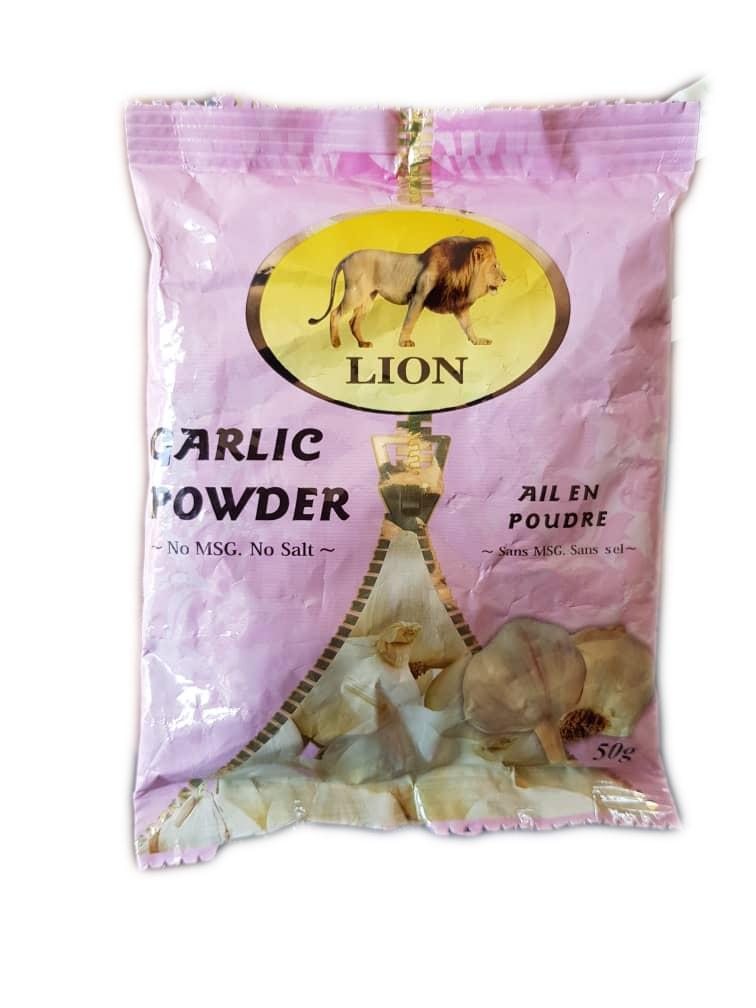 lion garlic powder