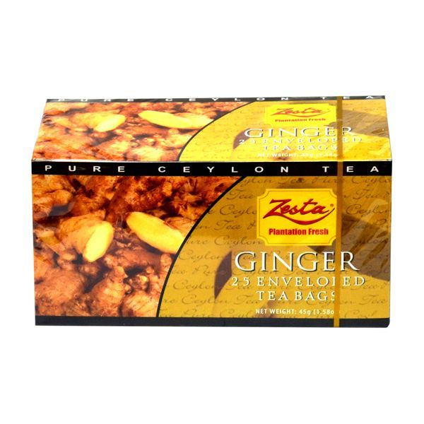 Zesta Ginger Tea Bag