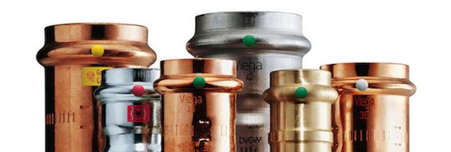 Conectores Viega para Sistemas de Agua Potable