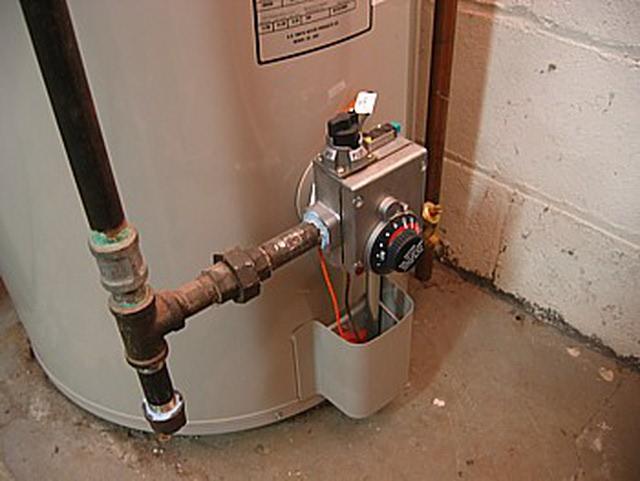 Anatomia del calentador de agua
