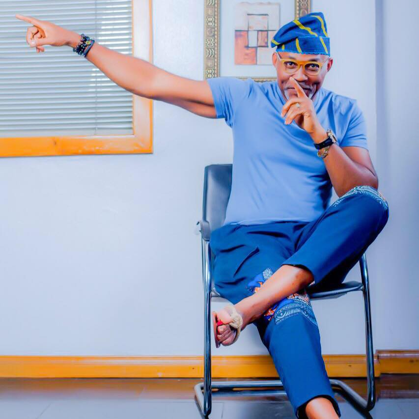 It Is Monday And We Are Crushing On Nollywood Actor Richard Mofe-Damijo