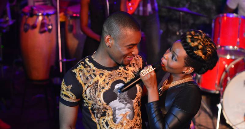 Yemi Alade Is Truly In Love With 'Johnny', Check Out Hot Photos Of The Two That Prove It