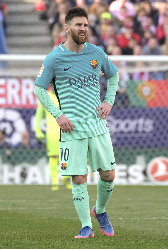Lionel Messi Suspended For Insulting Referee