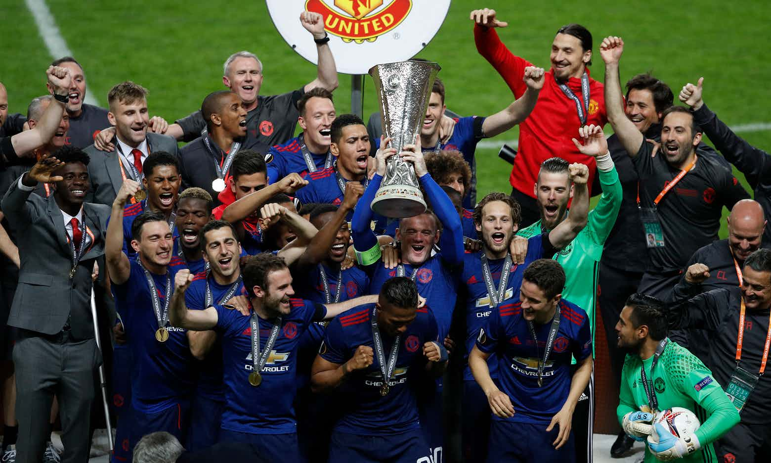 Manchester United Beat Ajax To Clinch Europa League