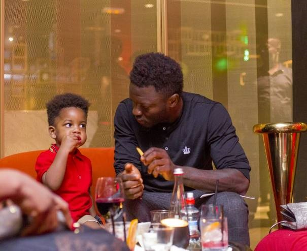 Sulley Muntari Gives Us New Daddy Goals For 2017