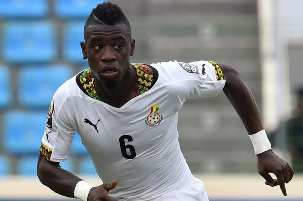 Photos: Black Star Midfielder, Afriyie Acquah Proudly Displays His Son On Social Media And We Are Lost For Words
