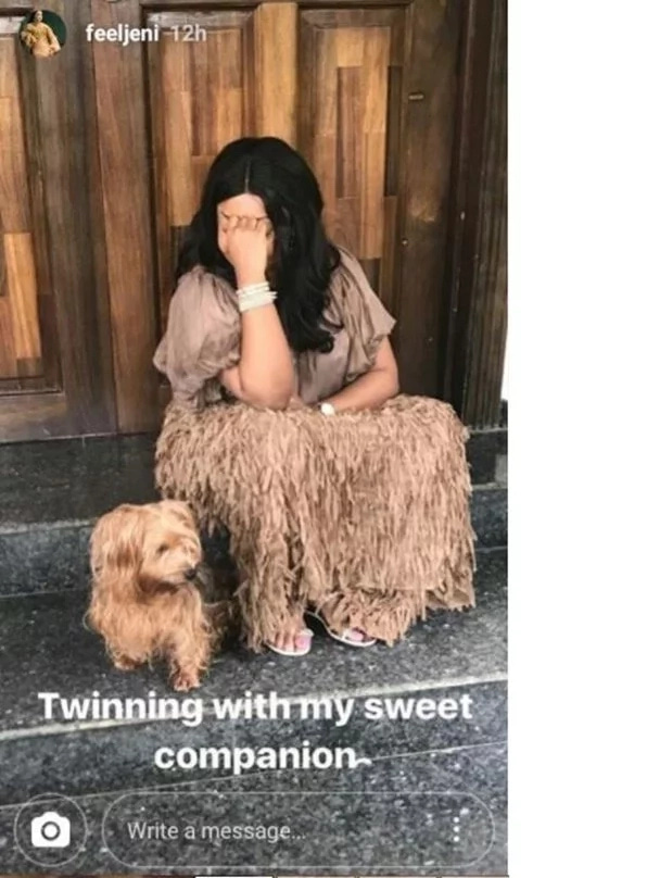 Here Is The Billionaire's Daughter Who Rocked A Matching Outfit With Her Dog