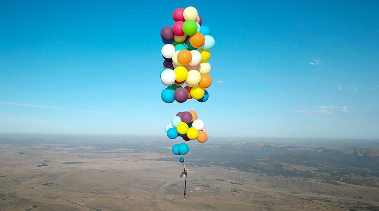 VIRAL Video: British Man Flies Across South Africa On A Chair Tied To Balloons And It's Breathtaking
