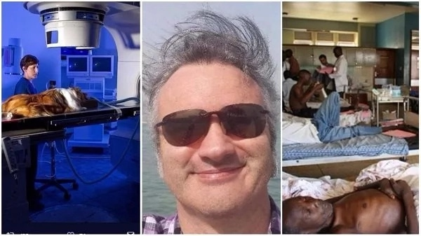 White Man Mocks Nigerian Healthcare System, Says A Dog Has A Better Chance Of Survival In America Than A Human In Nigeria
