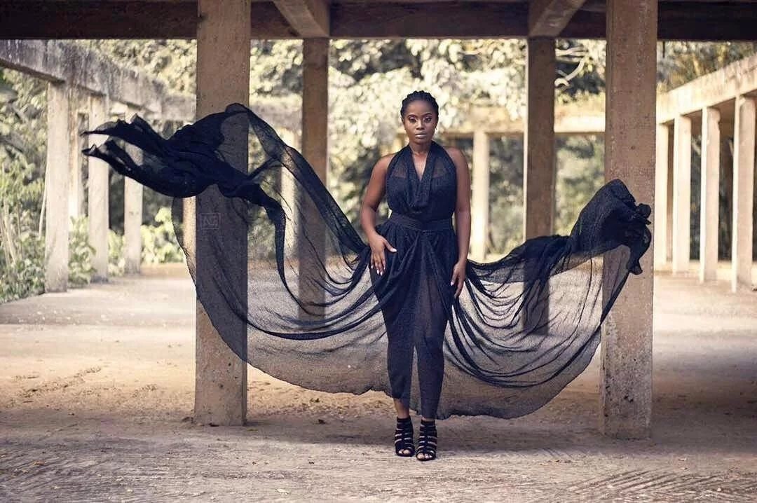 YOLO Actress Serwaa Opoku-Addo Flaunts Her Curves In These Photos