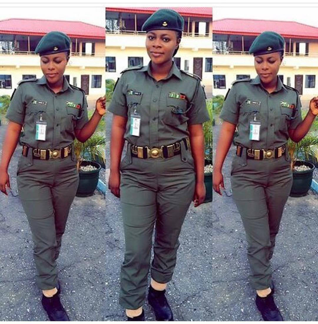 This Stunning Female Soldier Is Making Men Lose Their Head On Instagram