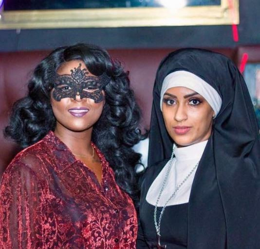 'Fake Christians, Shut Up If You Don't Have No Sense Left In Your Heads!' – Juliet Ibrahim Blasts Critics For Her Halloween Outfit