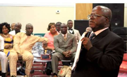 Video: 'Suck Gently, Don't Abuse Your Wife's Breast' – Opanin Kyere Tells Men