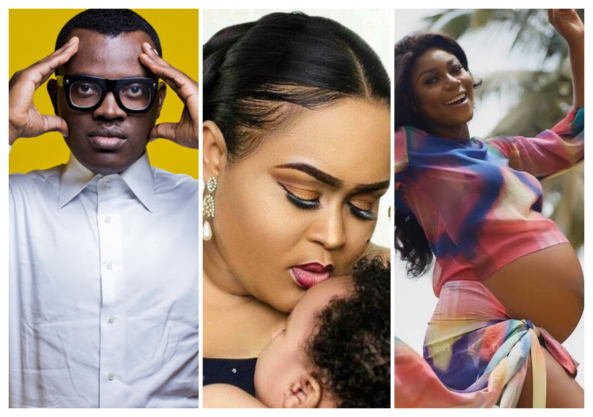 5 Ghanaian Celebs Who Were Blessed With The Fruit Of The Womb In 2017