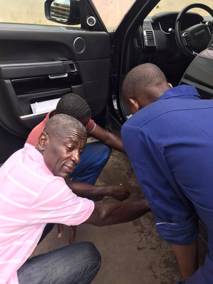 [PHOTOS] Check Out UT Bank Owner Kofi Amoabeng's Expensive Range Rover Vogue.