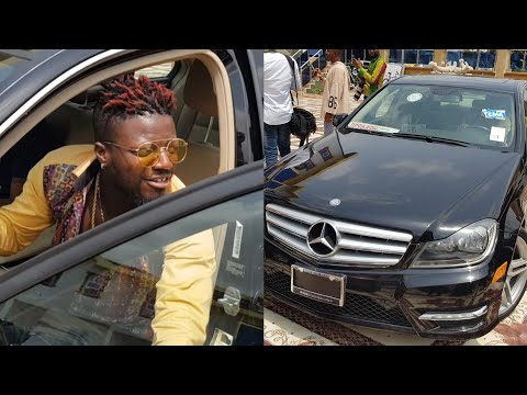 VIDEO: Check Out The Ride Or Die Shatta Wale Bought For Pope Skinny