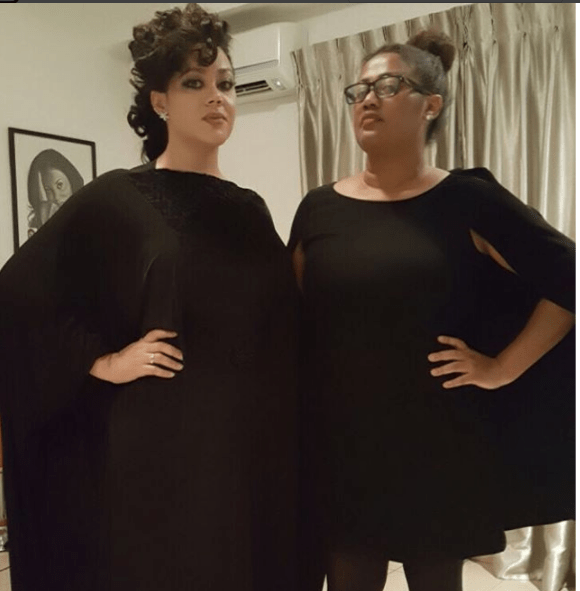 Meet Caddy Buari, The Never Ageing Mother Of Actress Nadia Buari Who Can Easily Pass For Her Twin
