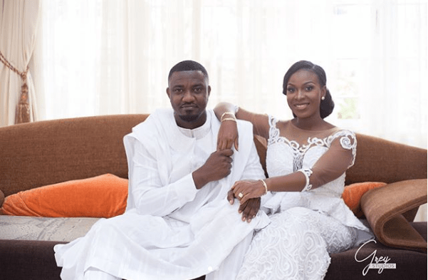 John Dumelo & Mawuenya Look STUNNING As They Attend Church For The First Time As A Couple (+Photos)