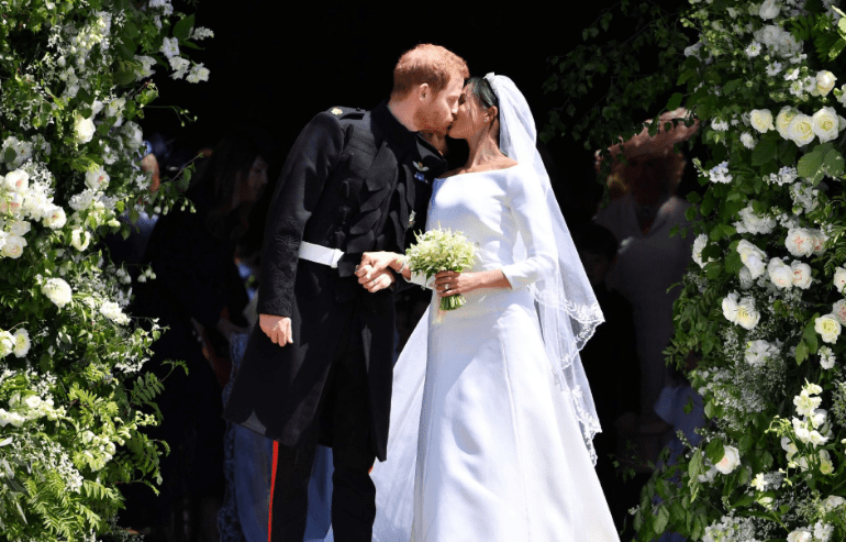 Royal Wedding: Prince Harry And Meghan Markle Are Officially Husband & Wife (PHOTOS)