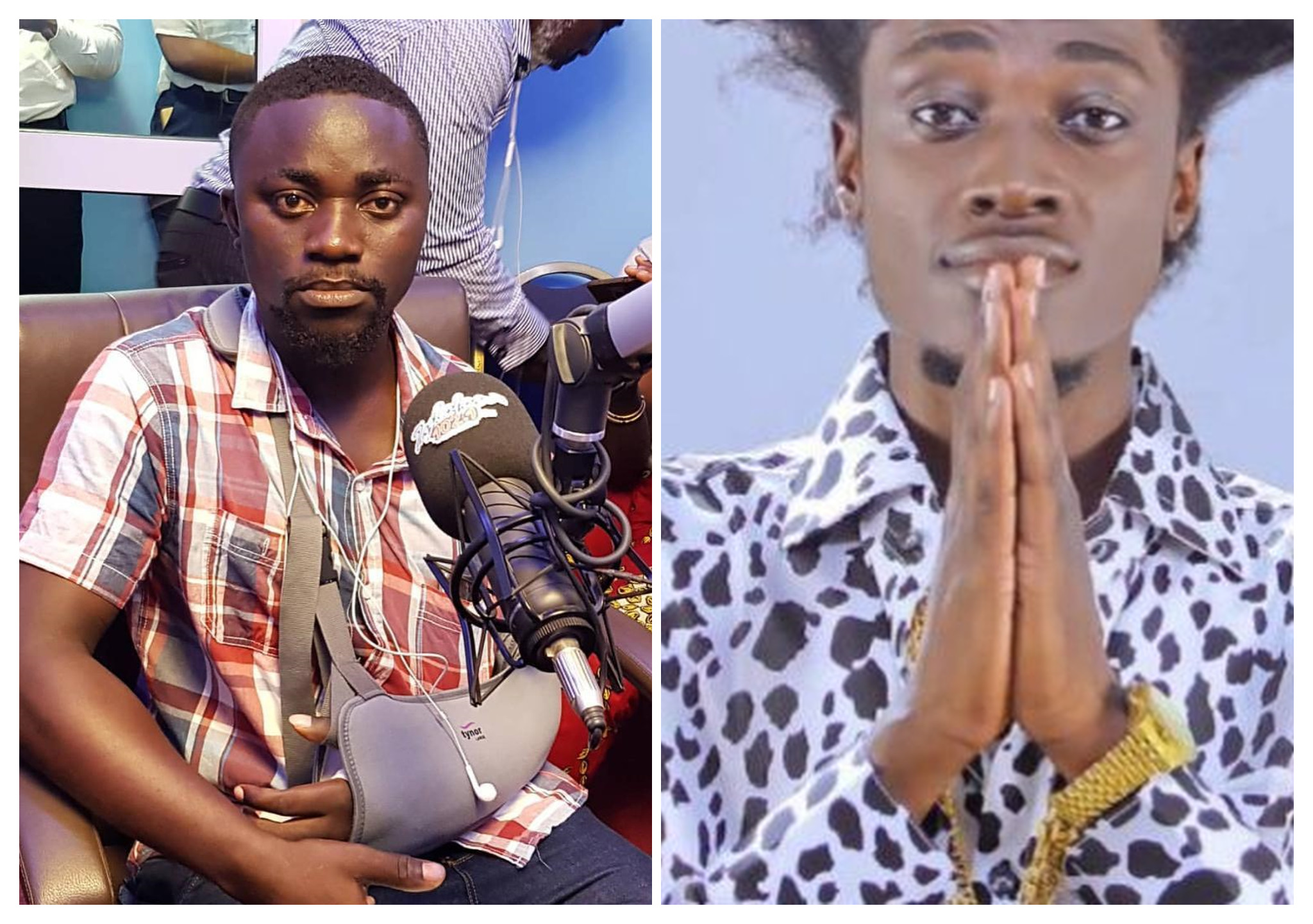 Man Who Killed Dancehall Artiste, Vybrant Faya With His Motor Bike Narrates How It Happened