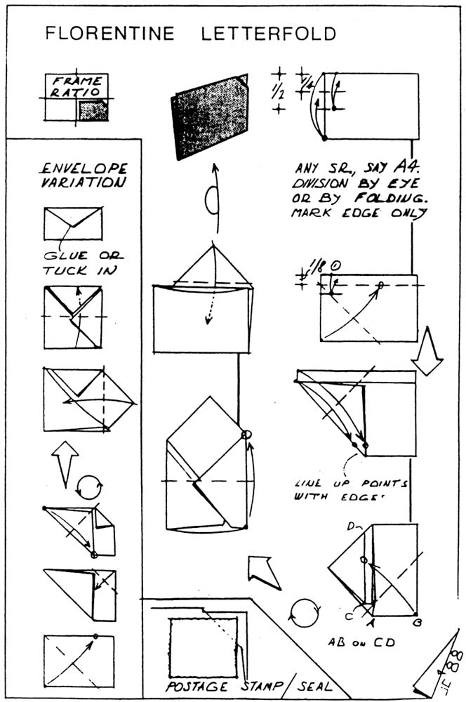 How to Make a Paper Envelope! :) : 8 Steps - Instructables | 1000x664