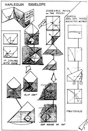 Harlequin Envelope