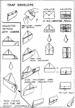 Trap Envelope – John Cunliffe