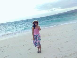 Behind me is the Carabao Island