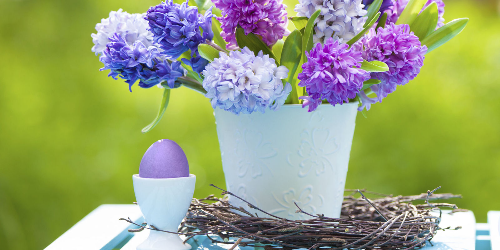 Purple Easter Crafts  Lavender Holiday Decorations