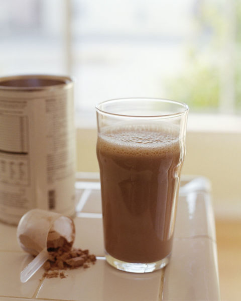 It's not just for gym rats! Protein powder contains amino acids that burn fat and build muscle. Add two teaspoons to a smoothie for a fat-busting drink. Find it at health food stores. Watch out: Make that smoothie with fruit, yogurt, and low-fat milk — adding protein powder to a chocolate shake doesn't make it health food (we wish). Buy it here
