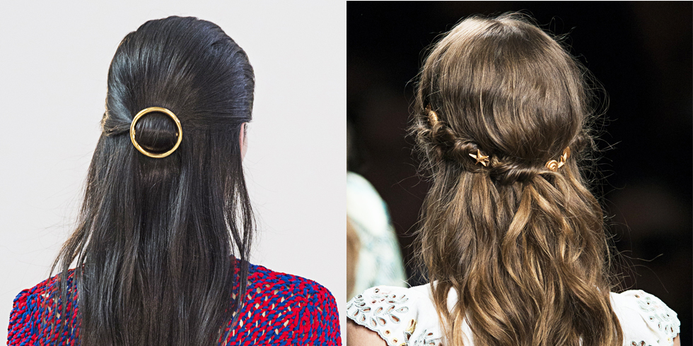 Two Minute Hairstyles Quick And Easy Hairstyles For Work