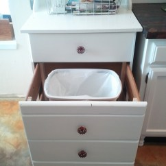 Hide Away Trash Bin Kitchen Best Sink Faucets How To A Can Disguise Ugly Garbage