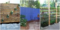 DIY Patio Privacy Screens - Backyard Patio Ideas