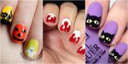 halloween nail art ideas- easy