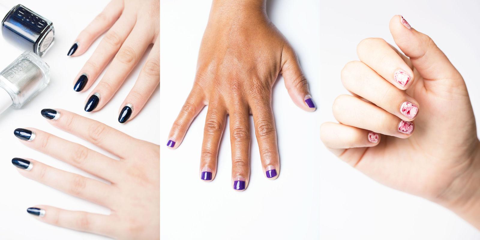 12 Easy Nail Designs