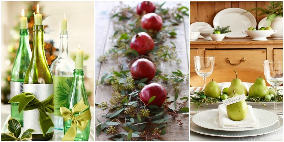 christmas table decorations for your holiday dinner