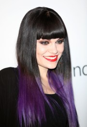 beautiful purple hair color