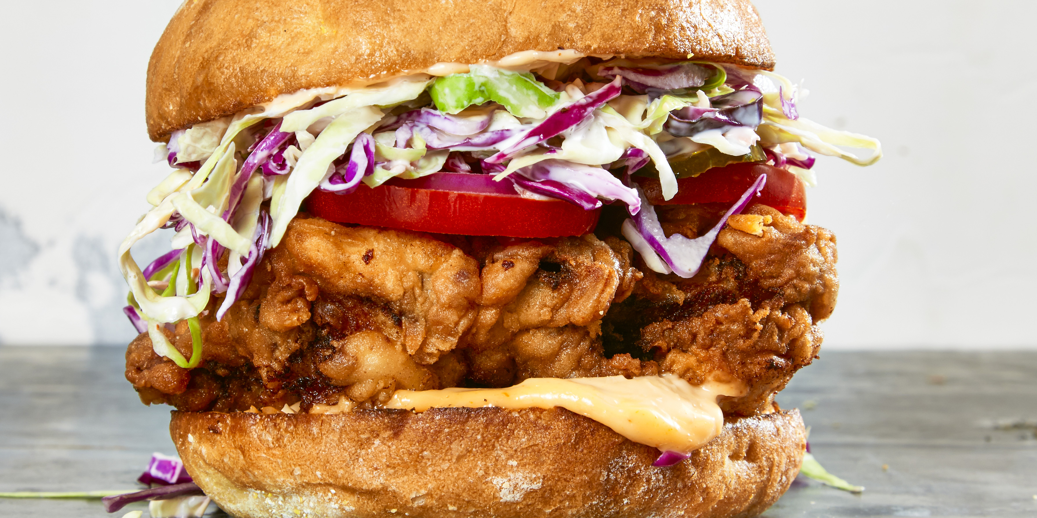 Ultimate Fried Chicken Sandwiches