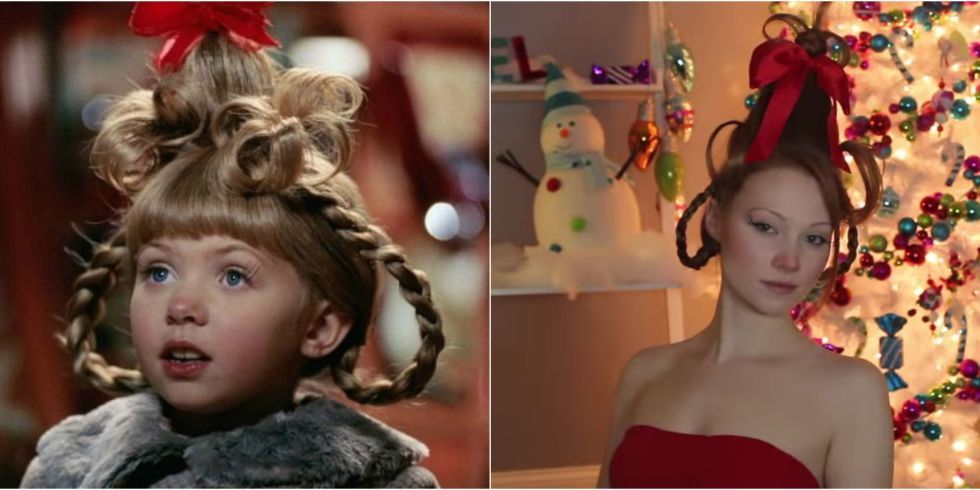 Cindy Lou Who Hair Tutorial — How To Do Cindy Lou Who's Hair And