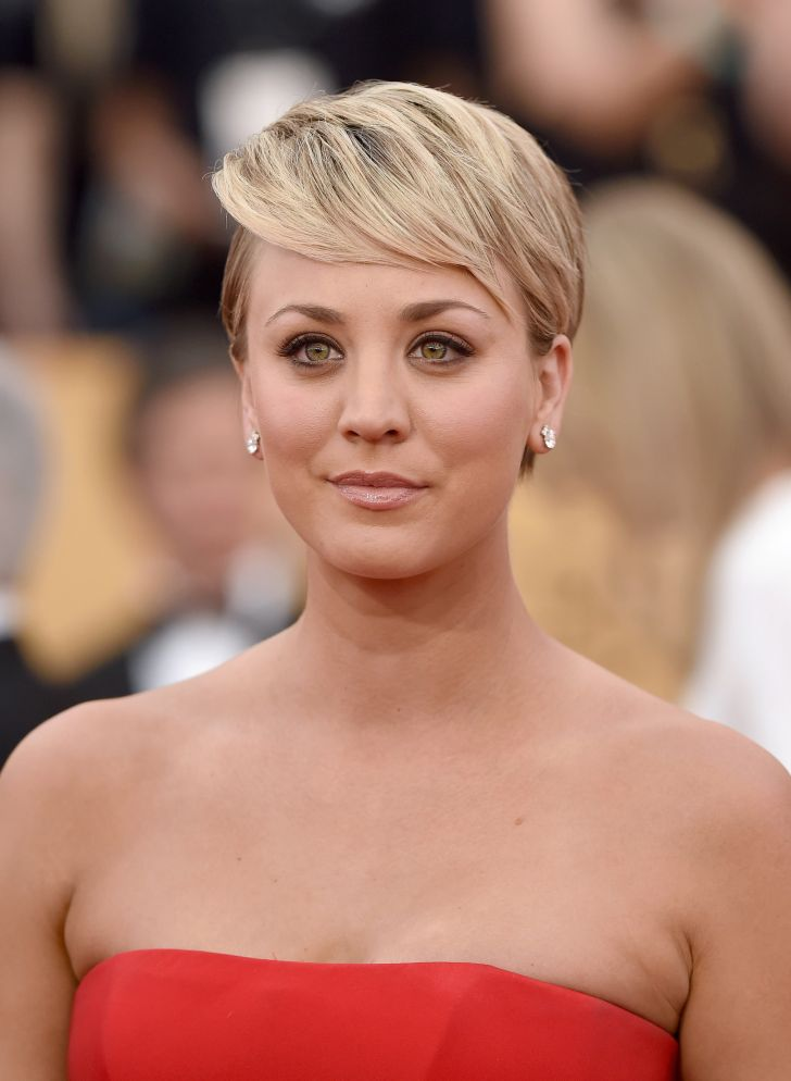 Short Hairstyle: Celebrity Short Hairstyles. Best Short Pixie Cut Hairstyles Cute Haircuts For Full Hd Celebrity Hairstyles Androids Pics Kaley Cuoco