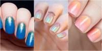 24 Glitter Nail Art Ideas