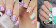 cute easter nail design - easy